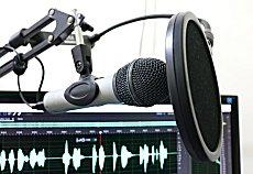 Microfoon voor professionele voice over
